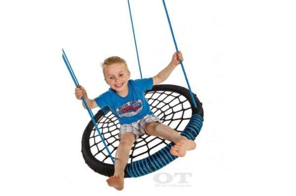 Large Web Spider Swing