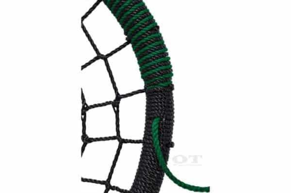 green nest mesh swing