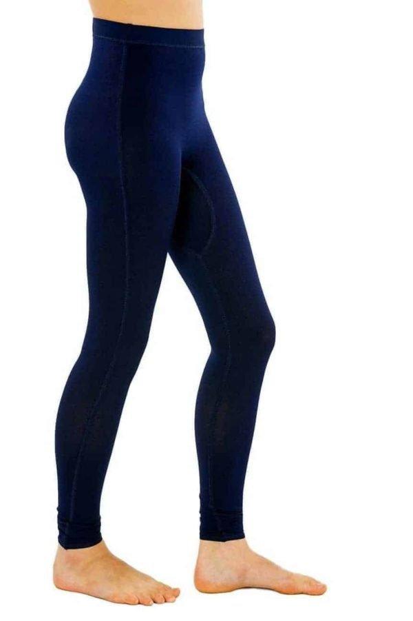 Girls Navy Leggings sensory clothing cc 1