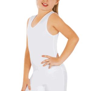 Girls_white_sleeveless_body_suit