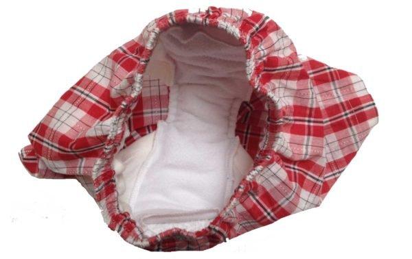 Red waterproof boxers Open