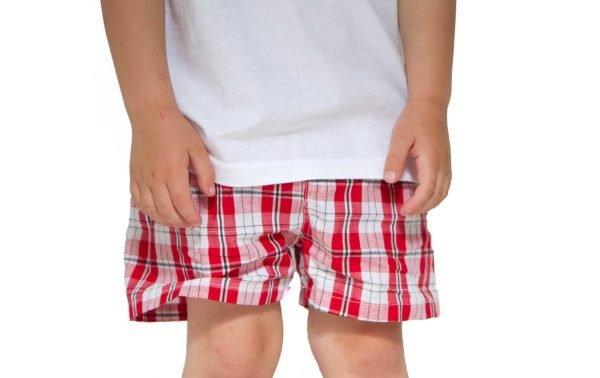 boy in red waterproof