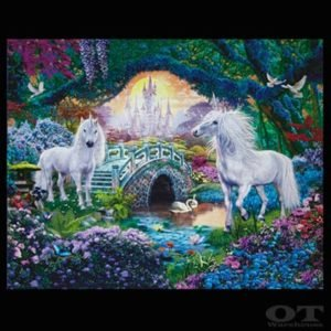 Cotton design for kids - Unicorn Gardens - kid