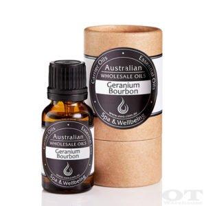 Geranium Bourbon Essential Oil 15ml